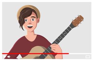ilustracija snimanja muzickih bendova